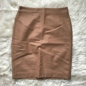 NWT J. Crew Factory Double-serge Wool Pencil Skirt